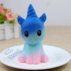 Jumbo Squishy Beautiful Unicorn Relieve Stress Toys 1PC - SunnySplit