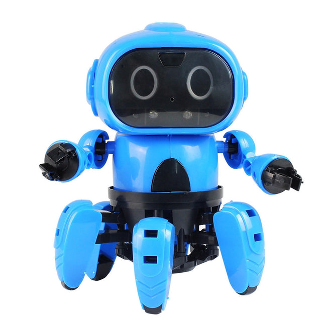 DIY Gesture Sensing Infrared Avoid Obstacle Walking Robot Toy - SunnySplit
