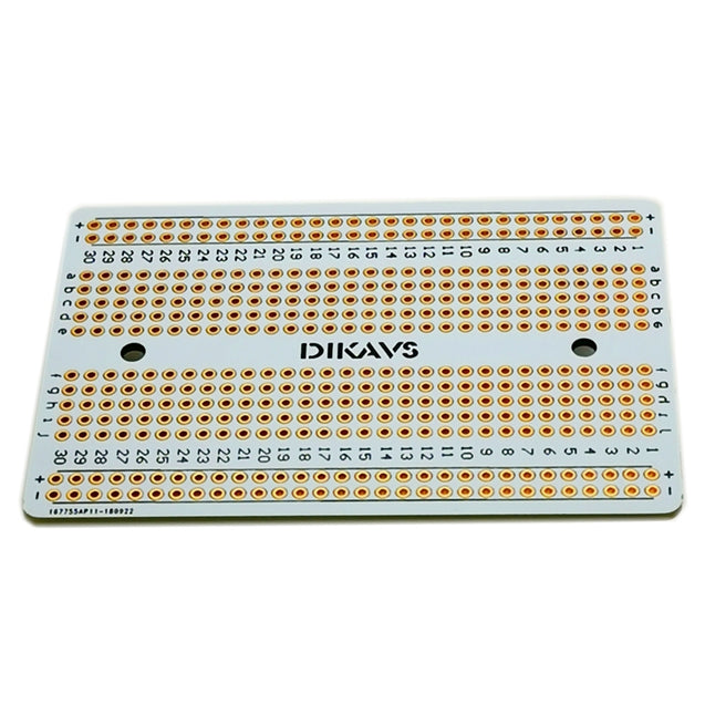 Double-sized Welding Breadboard PCB Universal Printed Circuit Board for Arduino - SunnySplit
