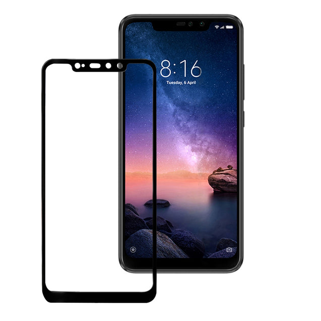 9H Full Cover Tempered Glass Screen Protector for Xiaomi Redmi Note 6 Pro 2PCS - SunnySplit