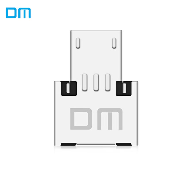 USB to Micro USB Male OTG Adapter Compatible with USB Disk / Phone / Tablet - SunnySplit