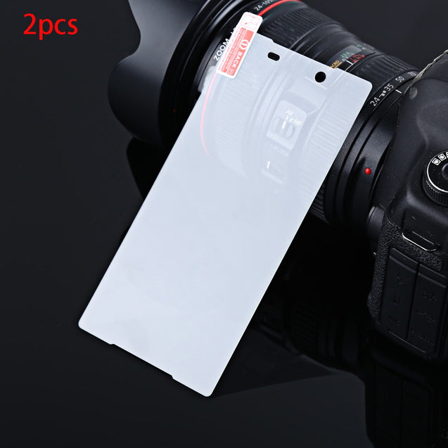 2pcs 2.5D 9H Ultra-thin Tempered Glass Film HD Clear Screen Protector for Sony Z5 Plus 5.5 Inch - SunnySplit