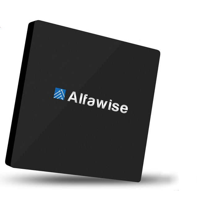 Alfawise S92 TV Box Android 6.0 OS Amlogic S912 Octa-core VP9-10 H.265 Decoder Support 2.4G + 5.8G Dual Band WiFi Bluetooth 4.0 Multi-media Player - SunnySplit