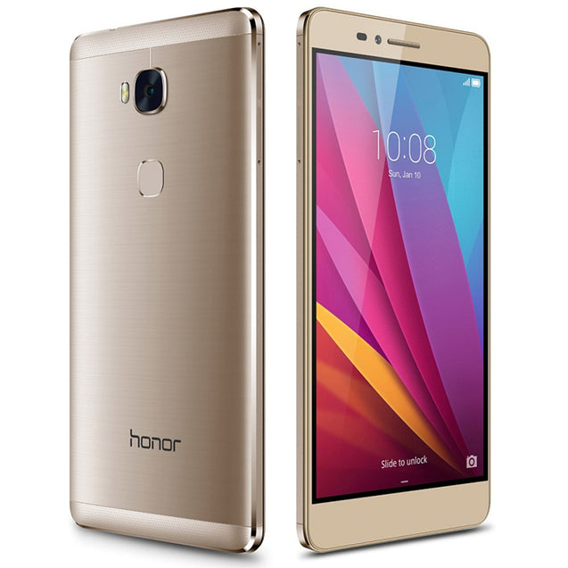 Huawei Honor 5X 5.5 inch Android 5.1 4G Phablet Snapdragon 616 Octa Core 1.5GHz 2GB RAM 16GB ROM 1080P FHD Screen 13.0MP Rear Camera Fingerprint Sensor - SunnySplit
