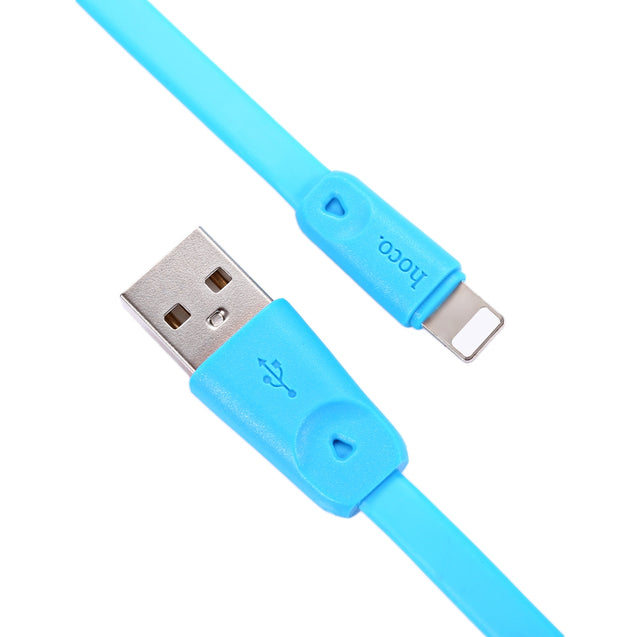 HOCO X9 8 Pin Noodle Charge Data Transfer Cable 1M - SunnySplit