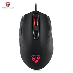 Motospeed V60 Gaming Mouse with RGB Backlight 5000DPI - SunnySplit