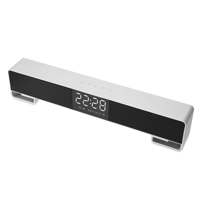 LP - C17 Alarm Clock Wireless Bluetooth Speaker LED Display - SunnySplit