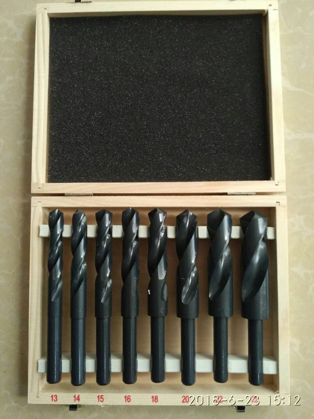 8pc HSS Cobalt Silver & Deming Drill Bits Set - SunnySplit