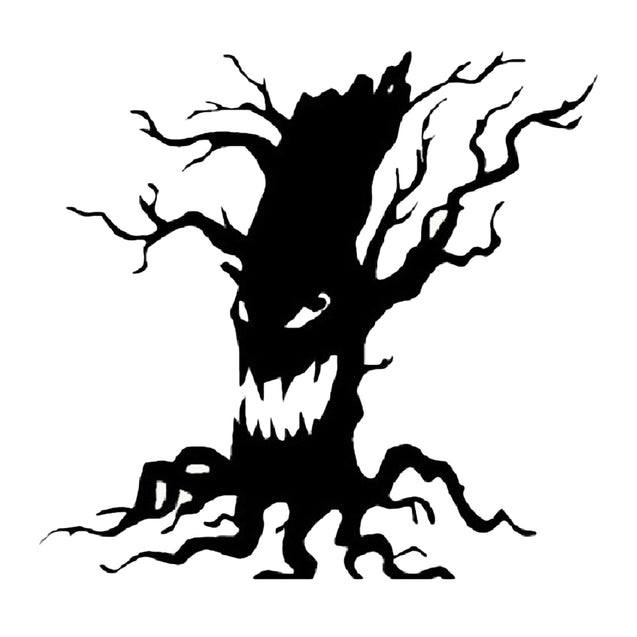 YEDUO Art Home Decoration Removable Wall Stickers Halloween Party Necessity Horrible Tree Ghost Living Room - SunnySplit