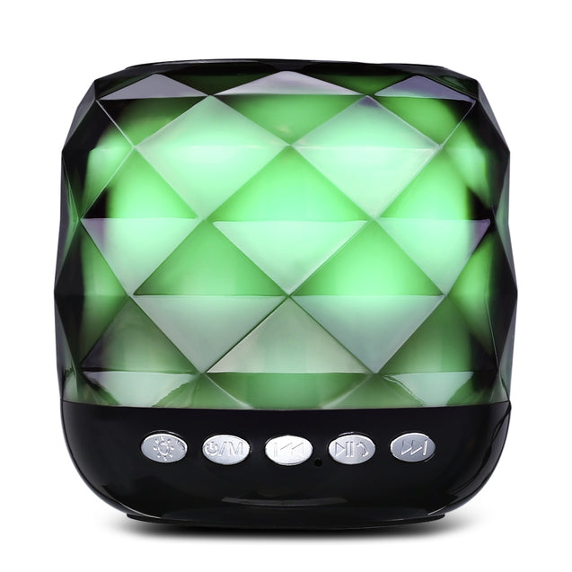 YZS - 05 Mini Wireless Bluetooth Stereo Speaker LED Lamp Portable Player - SunnySplit