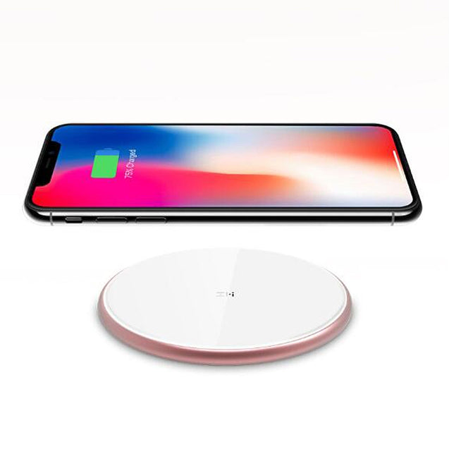 ZMI WTX10 Wireless Charger Multi-protocol Fast Charging Smart Identification Aluminum Alloy Shell ( Xiaomi Ecosystem Product ) - SunnySplit