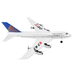 WLtoys XK A150 - BOYIN B747 3CH 510mm RC Aircraft with 6-axis Gyroscope - SunnySplit