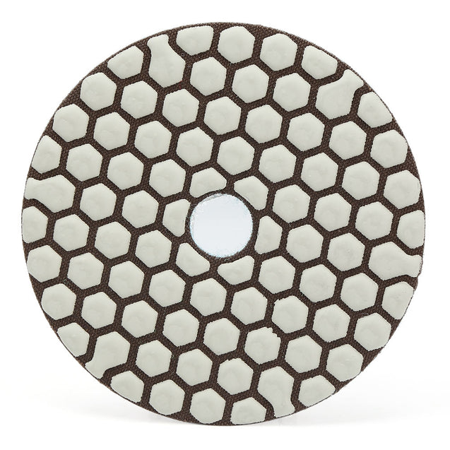 7pcs Diamond Polishing Pads Dry Grinding Discs for Granite Marble Concrete Stone - SunnySplit