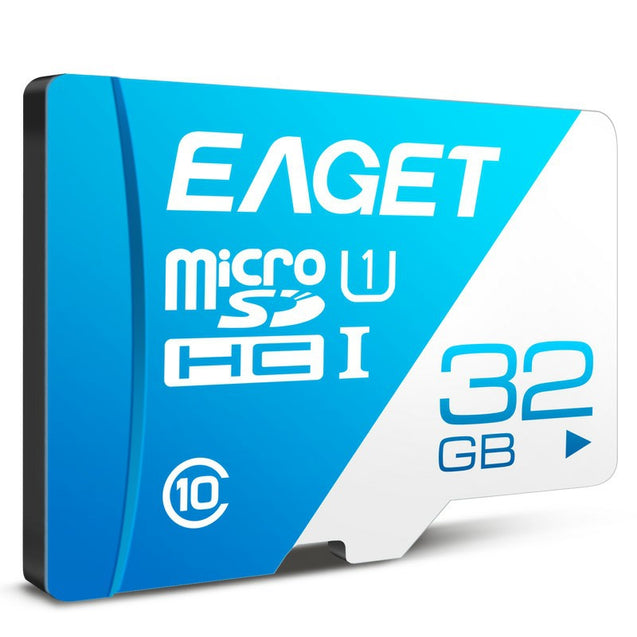 EAGET T1 Class 10 High Speed Micro SDHC UHS-I Flash TF Memory Card - SunnySplit