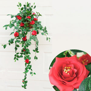 1 Bouquet Rose Wall Mounted Artificial Flower Home Decoration - 90CM - SunnySplit