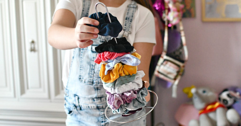 Organize Scrunchies for Just $1 Using This Dollar Tree Item