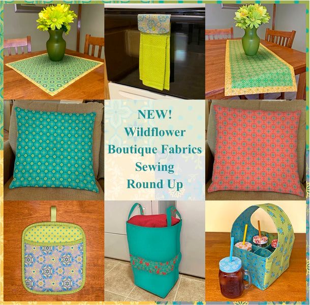 NEW! Wildflower Boutique Sewing Project Round Up