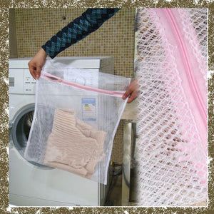 1Pc 30x40cm Mesh Washing Bags Women Lingerie Wash Laundry Bags Home Using Clothes Washing Net Storage Organizer Laundry Bags