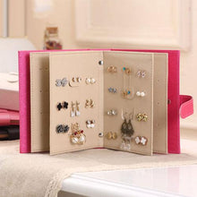 Load image into Gallery viewer, 2018 New Fashion Hot Popular Jewelry Box Storage Organizer Necklace Bracelet Ring Earring Case Holder Book