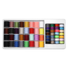 Load image into Gallery viewer, 60pcs Assorted Colors Sewing Thread Spools Storage Organizer Holder