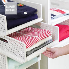Load image into Gallery viewer, Multi-Function Collapsible Plastic Drawer Storage Organizer Basket