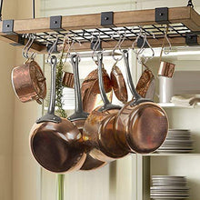 Load image into Gallery viewer, Featured 26 pack s hooks stainless steel s hanging hooks heavy duty s hanger hooks x large 4 8 large 3 5 small 2 5 metal kitchen pot rack hooks closet hooks for hanging pot pan cups plants bags jeans