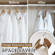 Load image into Gallery viewer, Closet Hanger Space Saver Extension Hook