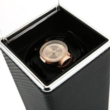 Load image into Gallery viewer, Automatic Rotation Watch Winder Display Box Transparent Cover Jewelry Storage Organizer US Plug Caixa De Relogios Watches Winder