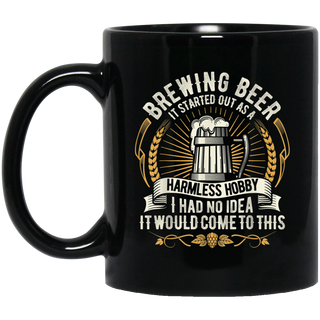 Brewing Beer Design For The Brewmasters & Craft Beer Lovers Black Mug