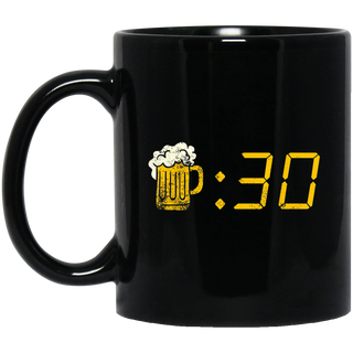 Beer Thirty Drinking Or Getting Drunk Black Mug