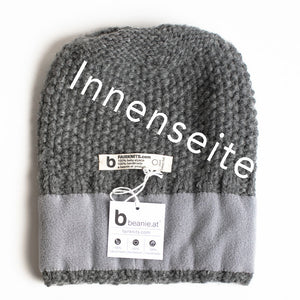 "Beanie ""Picchu"" Fleece anthrazit"