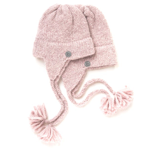 "Beanie ""Mini"" rose-quarz"