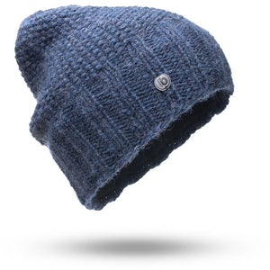 "Beanie ""Picchu"" Fleece denim"
