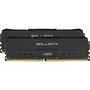 Crucial 16GB Ballistix DDR4 3200 MHz (2 x 8GB, Black)