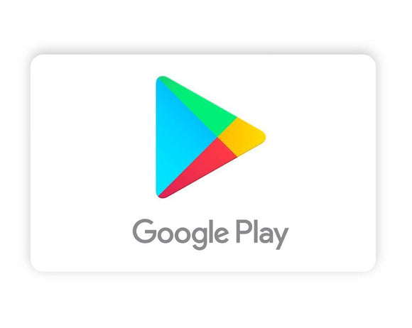 Google Play cards (US) - Email Delivery