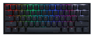 Ducky One 2 Mini RGB LED 60% Double Shot PBT Mechanical Keyboard