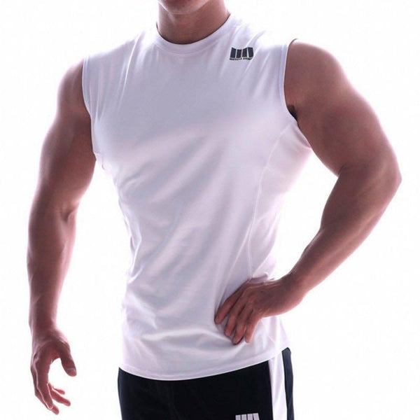 Slim hurdle training sports vest men's sleeveless t-shirt
