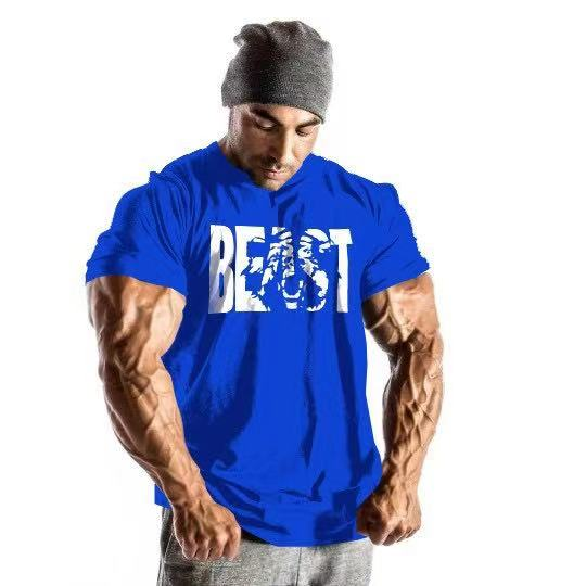 Men's Fitness Short Sleeve T-shirt