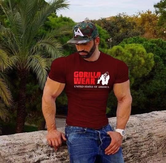 Men's Fitness Short Sleeve T-shirt(TS014)