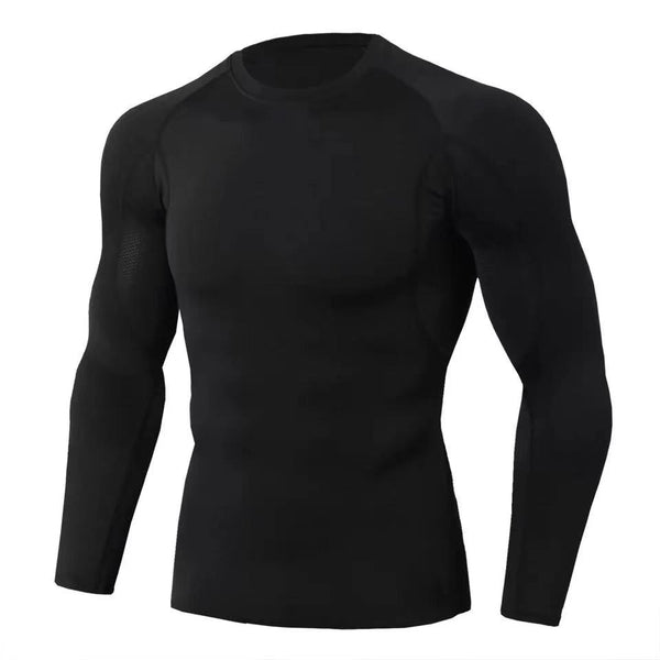 Men's fitness long-sleeved quick-drying tights