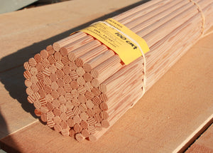 100 Count Bulk Hunter Grade Shafts, 11/32""