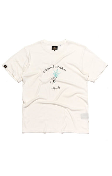 Afends - Natural Selection Standard Fit Hemp Tee - Natural