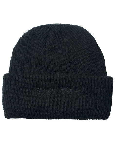 The Snake Hole - Down Times Beanie - Black