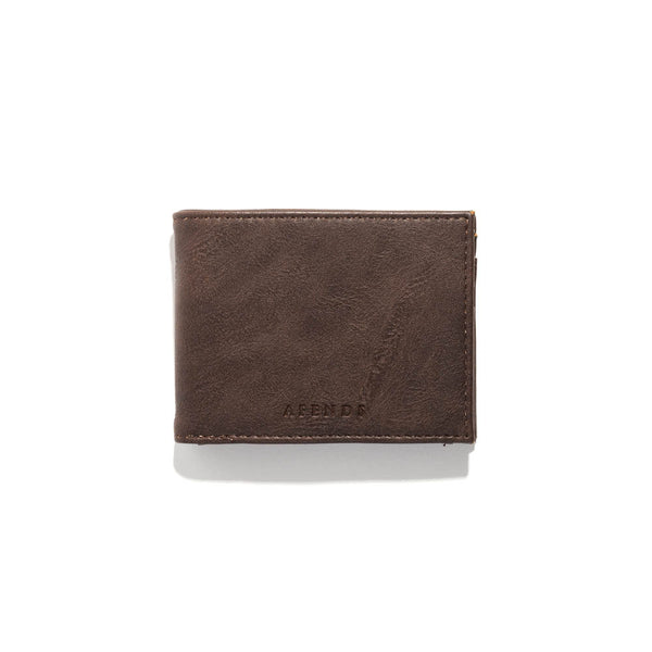 Afends - Stand Bi Fold Wallet - Brown