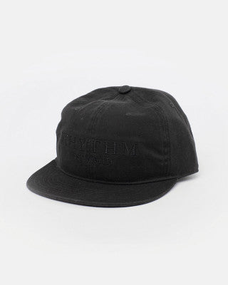 Rhythm - Label Cap - Washed Black