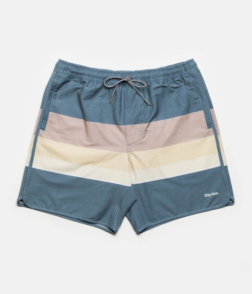 Rhythm - Retro Stripe Beach Short