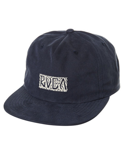 RVCA - King Of RVCA Snapback - Navy