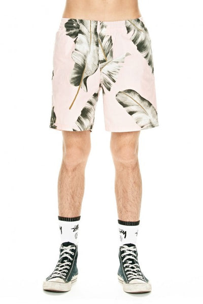 Stussy - Bird Of Paradise Beachshort - Pink