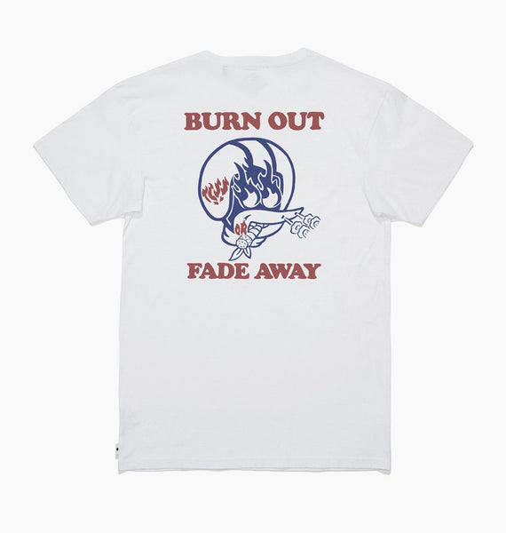 The Critical Slide Society - Burn Out Tee - White
