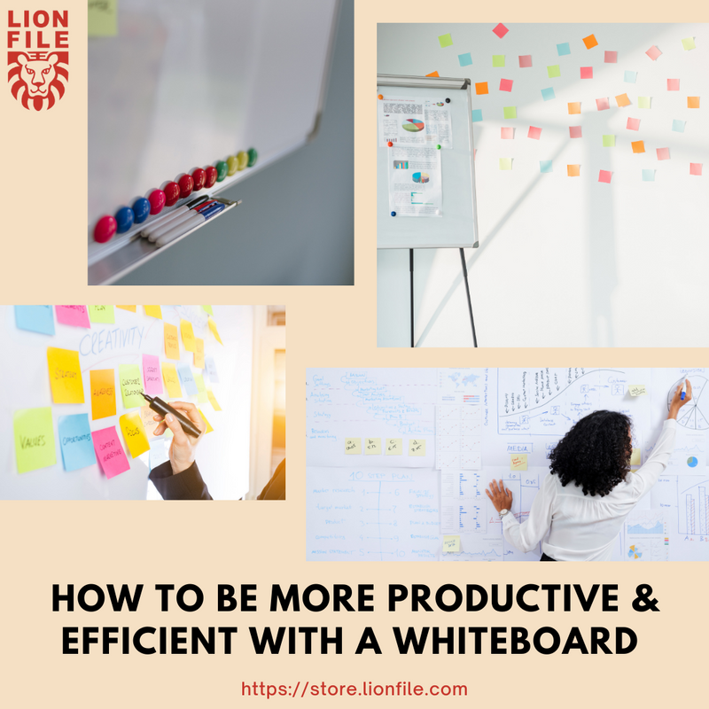 How to Be More Productive & Efficient with a Whiteboard